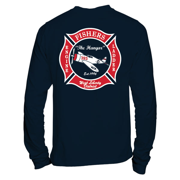 Station 393 - Duty Long Sleeve T Shirts With Patch (SP 16 & 30) - L&M Spirit Gear