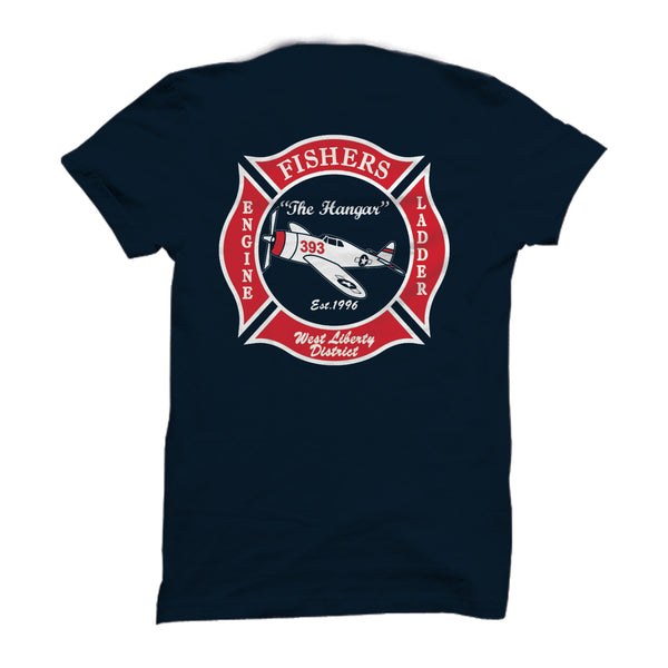 Station 393 - Duty T Shirts With Patch (SP 16 & 30) - L&M Spirit Gear