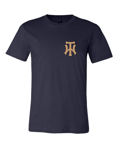 TW Unisex Short Sleeve Jersey Tee Embroidery Logo - L&M Spirit Gear