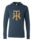TW Unisex Long Sleeve Jersey Hooded Tee Glitter Logo - L&M Spirit Gear