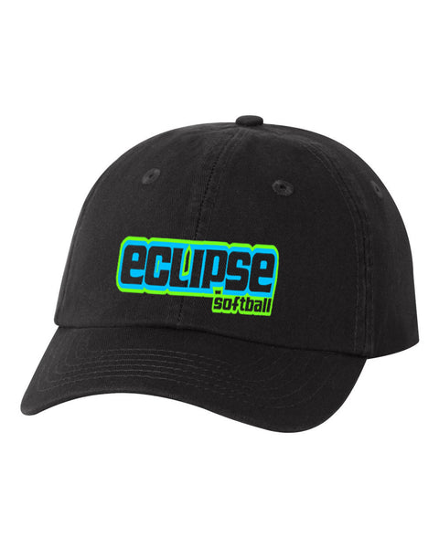 Eclipse Wasson Softball Unstructured Classic Cap - YOUTH/SMALL FIT EMB - L&M Spirit Gear