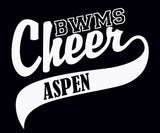 BWMS Cheer Car Decal - L&M Spirit Gear