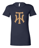 TW Women's Navy Women's The Favorite Tee Screen Print Logo - L&M Spirit Gear