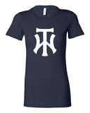 TW Women's Navy Women's The Favorite Tee Screen Print Logo - L&M Spirit Gear  - 2