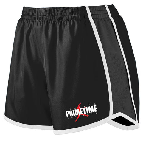Indiana Primetime Softball LADIES PULSE TEAM SHORT SP - L&M Spirit Gear
