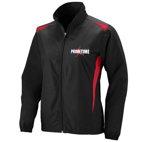 Indiana Primetime Softball Ladies Premier Jacket EMB - L&M Spirit Gear