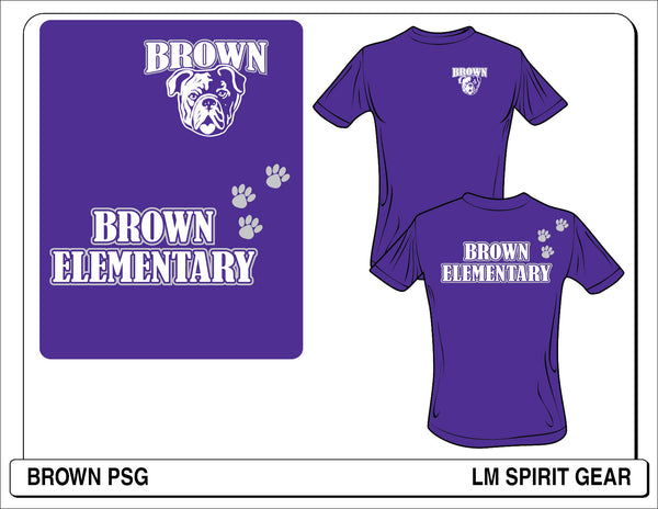 Glitter Brown PSG - L&M Spirit Gear  - 1