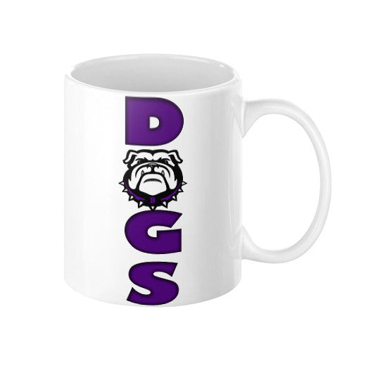Vertical Dogs Coffee Mug - L&M Spirit Gear