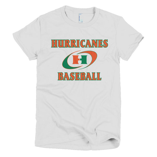 Hurricanes Short sleeve women's t-shirt - L&M Spirit Gear  - 1