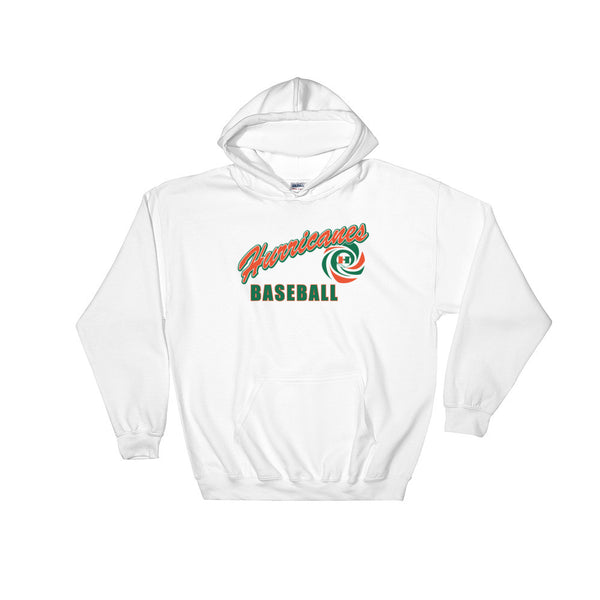 Hurricanes Baseball Hooded Sweatshirt Option B - L&M Spirit Gear  - 1