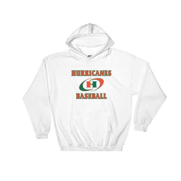 Hurricanes Baseball Hooded Sweatshirt - L&M Spirit Gear  - 1