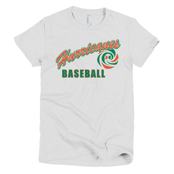 Hurricanes Baseball Short sleeve women's t-shirt Option B - L&M Spirit Gear  - 1