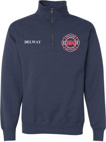 Fishers Fire 394 Nano Quarter-Zip Sweatshirt SP - L&M Spirit Gear