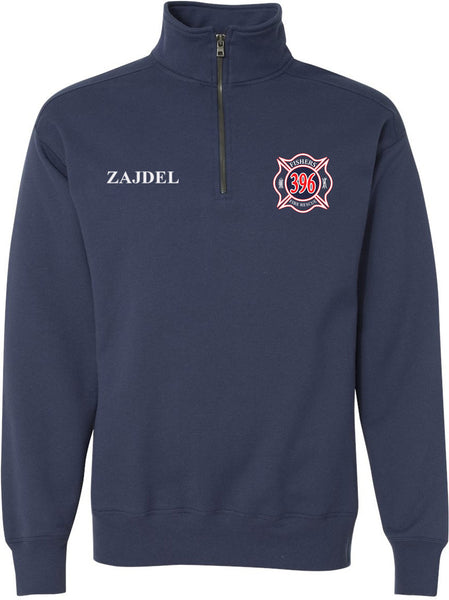 Fishers Fire Nano Quarter-Zip Sweatshirt SP - L&M Spirit Gear