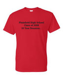 PHS Class of 2008 Red Short Sleeve
