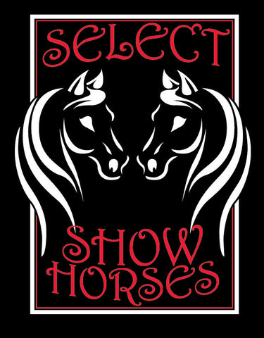 Select Show Horses Left Chest Embroidery - L&M Spirit Gear