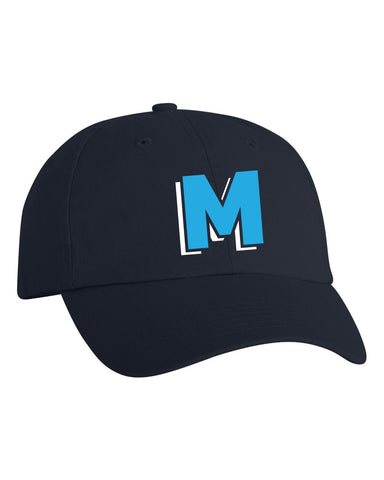 Marlins Softball Unstructured Cap - EMB