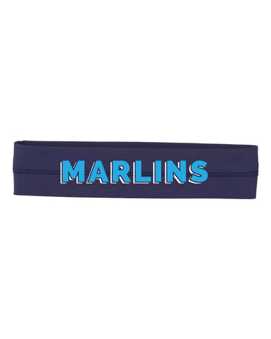 Marlins Softball Women's Headband - EMB