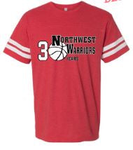 Northwest Warriors Basketball Short Sleeve Football Shirt 30 Years