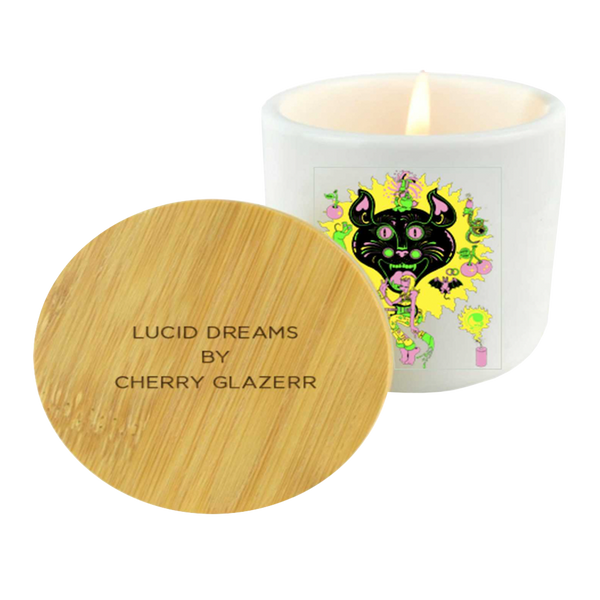 2020 Cherry Glazerr Lucid Dreams Holiday Candle