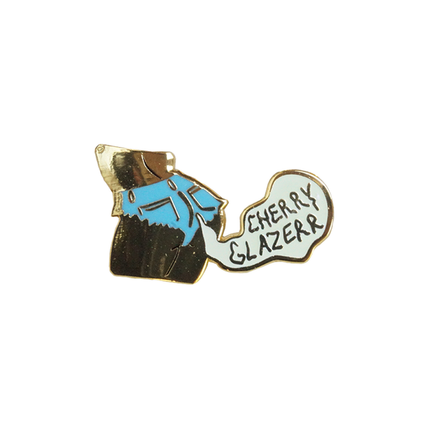 Cherry Glazerr Butt Pin