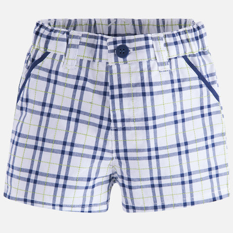 Mayoral Baby Boys Checkered Shorts - Kidz and Company