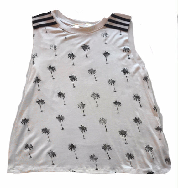 Vintage Havana Palm Trees Tank Top