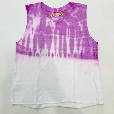So Nikki Tween Girls Grape Dip Dye Tank Top - Kidz and Company
