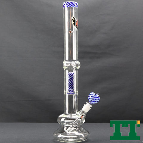 "Red Eye Glass 20"" Tall 7mm Carrera Perc Tube"