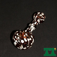 Glass Speckled Rock Hopper Pipe 5''