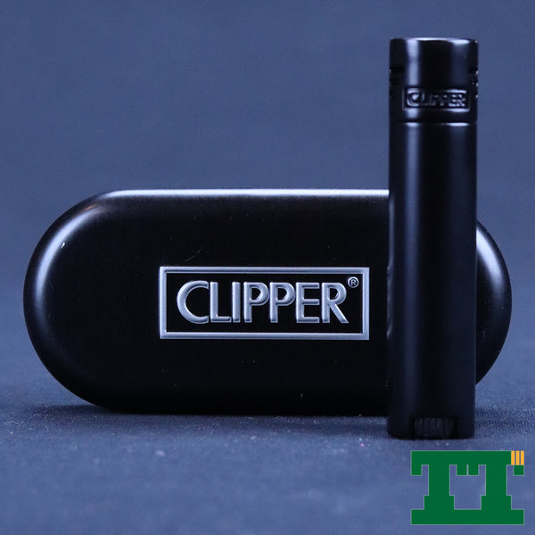 CLIPPER METAL JET FLAME BLACK DESIGN
