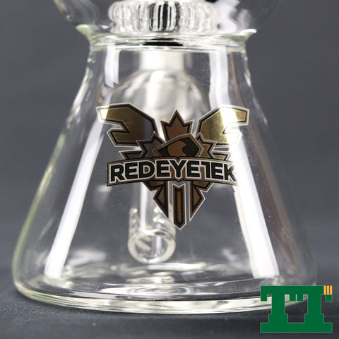 "Red Eye Tek™ 10"" Deuce Bubble Beaker Mini Tube"