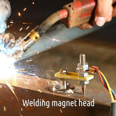 Welding Magnet Head Magnetic Welding Support Free Shipping