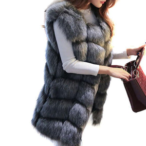 Luxury Warm Fur Vest - Market Glad ™