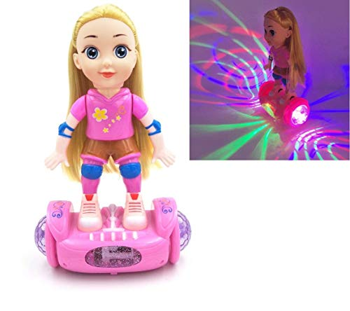 CrazyBuy Balance Car Doll with Light & Sound - Market Glad ™