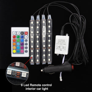 LED Atmosphere Lights With Remote Free Shipping - Market Glad ™