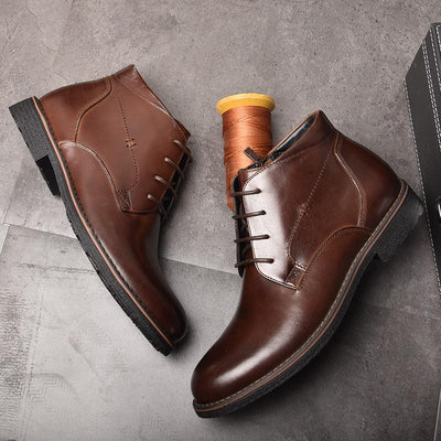 Genuine Leather Men Boots - Market Glad ™