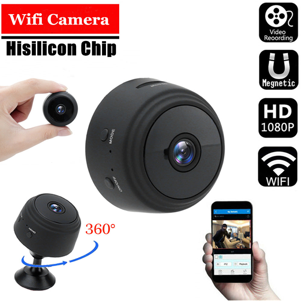 WIRELESS WIFI CAMERA WITH SENSORI NIGHT VISION FREE SHIPPING - Market Glad ™