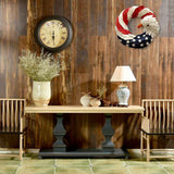America Patriotic Eagle Wreath Garland Decor