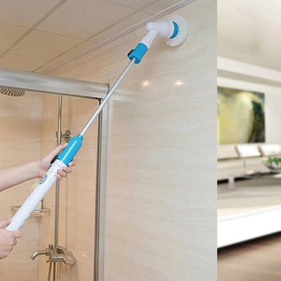 Turbo Spinning Scrubber Cleaning Brush Chargeable Bathroom Cleaner