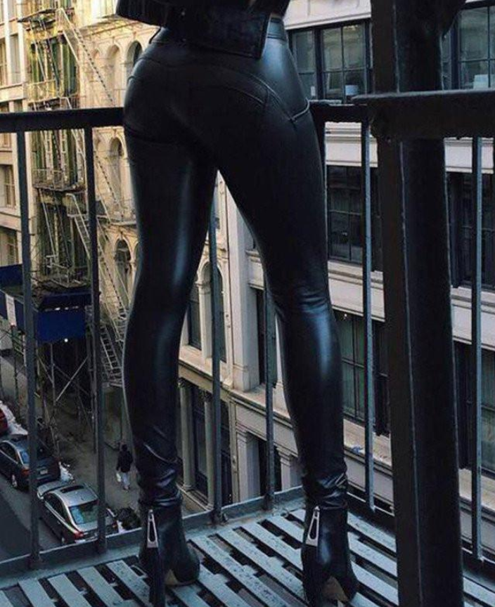 good out x classic shoes new specials 2019 ZEUS ECO-LEATHER LEGGINGS