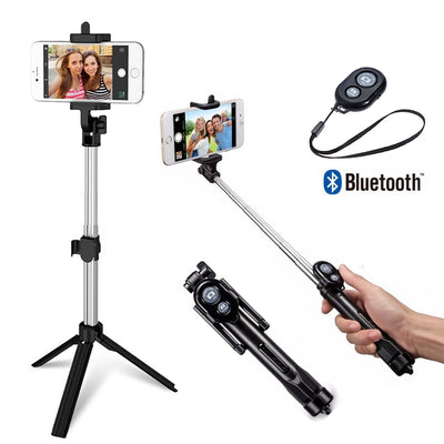 Bluetooth Remote Tripod Selfie Stick Free Shipping