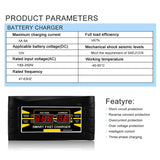 Car Battery Charger 150V 250V To 12V 6A - Market Glad ™