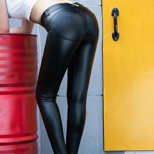 ZEUS ECO-LEATHER LEGGINGS - Market Glad ™