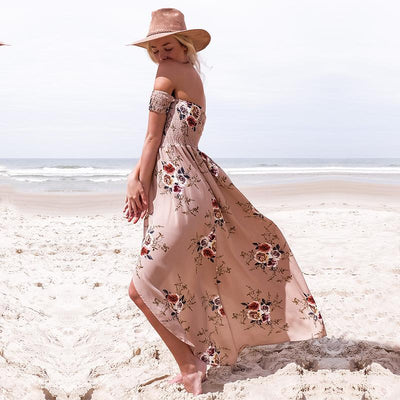 Strapless Vintage Tunika Beach Summer Dress - Market Glad ™