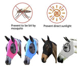 ANTI-FLY MESH EQUINE MASK horse Horse fly mask with ear bob eye