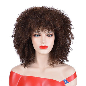 Wig African American Natural 12 Inches