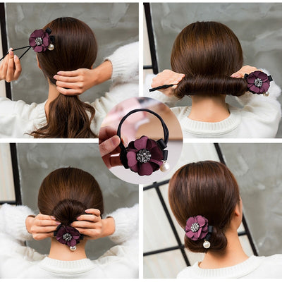 Tie-it-Cute Hair Buns Free Shipping - Market Glad ™