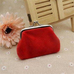 TRANSER Womens Corduroy Small Wallet Holder Coin Purse Clutch Handbag Bag Girls Card Holder High Quality Famous Designer Aug17 - Market Glad ™