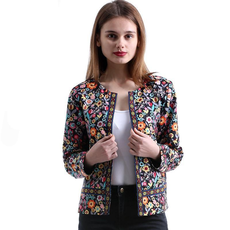 JACKET COLLARLESS ELEGANT - Market Glad ™